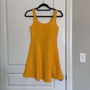 New with tags! Yellow skater dress